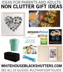 gifts for from the ultimate gift guide non clutter gifts