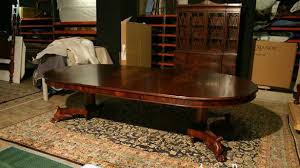 top round mahogany dining room table with leaves 60 round dining