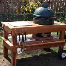 how to build a weber grill table build a barbecue grill table diy projects for everyone