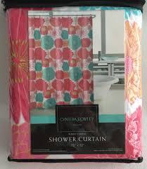 Cynthia Rowley Drapery Cynthia Rowley Shower Curtain Orange U2022 Shower Curtain Design