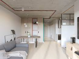 russian interior design industrial russian interior with quirky colour twists including