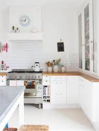 idee cuisine blanche idee deco pour cuisine blanche 14 meuble salle a manger