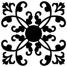 onlinelabels clip ornamental flourish design silhouette