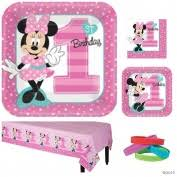 Minnie Mouse Table Covers Minnie Mouse Party Supplies Toys Buy Online From Fishpond Co Nz