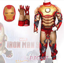 Kids Light Halloween Costume Iron Man Light Costume Ebay