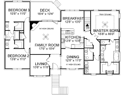 split floor plan house plans southern house plan floor 013d 0092 house plans and more