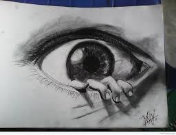 3d pencil sketch of eye desipainters com