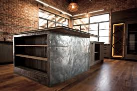 kitchen island shelves modern rustic kitchen island eceptional really cool decor with