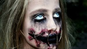 scary halloween makeup for women horror doll a scary halloween