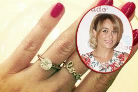 conrad wedding ring conrad announces william tell engagement and shows