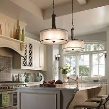 kitchen painted island kitchen oak floor wall scones light