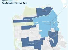 San Francisco Ferry Map by Ford Gobike Launches Bringing Bike Share To New Sf Neighborhoods