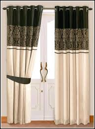 Brown And White Striped Curtains Gold Curtains Shower Curtain Black And Gold
