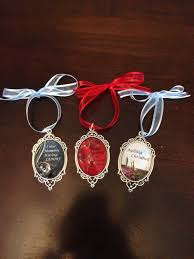 diana gabaldon inspired christmas ornaments