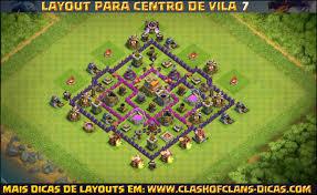 clash of clans layouts de cv7 para clash of clans clash of clans dicas