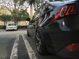 lexus isf alignment specs flush spacers on fsport rims page 6 clublexus lexus forum