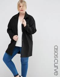 asos curve cocoon coat clothing pinterest coats asos and