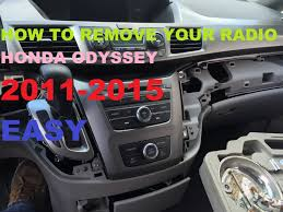 lego honda pilot how to remove your radio from a 2011 to 2015 honda odyssey youtube
