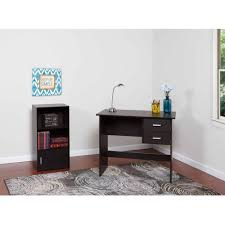 Small Writing Desks by Comfort Products Adina 2 Drawer Writing Desk Walmart Com
