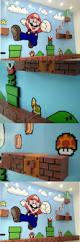 amazing 3d super mario bros mural 6 paintings ideas pinterest amazing 3d super mario bros mural 6