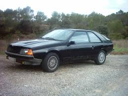 1984 renault fuego fuego turbo essence