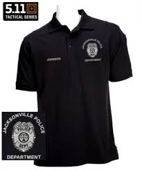 5 11 pro polo enforcement custom embroidered badge knit shirt
