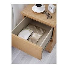 ikea bedside cabinets malm malm chest of 2 drawers oak veneer 40x55 cm ikea ikea malm night
