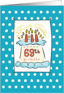 69th birthday card 69th birthday cards from greeting card universe