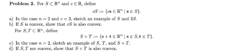 problem 2 for s c r and cer define a in the cas chegg com