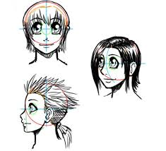 shonen hairstyles how to draw manga useful tips and tricks
