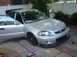 96 honda civic 2 door coupe 1996 honda civic turbocharged ej6 4 door overview