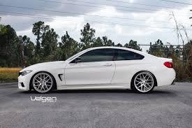 matte white bmw bmw f32 435i velgen wheels vmb7 matte silver 20x9 u0026 20x10 5