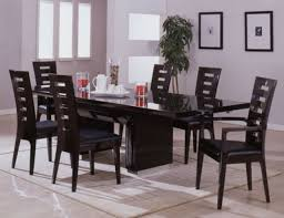 extendable dining table set beautiful 11 contemporary wenge dining