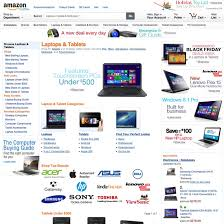 amazon black friday deals web site amazon u0027s homepage u0026 categories usability score 721 baymard