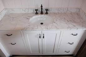 White Carrera Marble Bathroom - white carrara marble bathroom countertops bathroom countertops