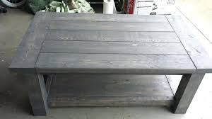 square gray wood coffee table weathered grey coffee table rustic intended for contemporary gray 5