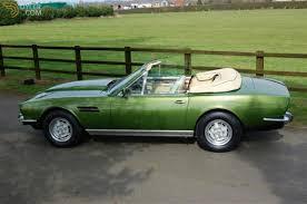 aston martin classic convertible classic 1981 aston martin v8 volante cabriolet roadster for sale