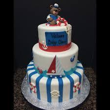 bear boat fondant nautical cake sweets pembrokepines miami