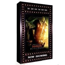 lighted movie poster frame movie poster frames cases stargate cinema