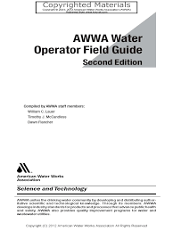 awwa water operator field guide parts per notation decibel