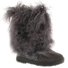womens mid calf boots size 9 bearpaw boetis ii charcoal womens mid calf boots size 9 m ebay