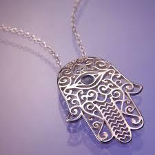 hamsa sterling silver necklace images Ben yehuda street jpg