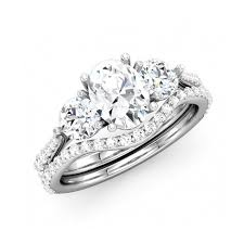 bridal ring company 96 best three engagement rings images on three