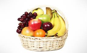 basket of fruit dealdey basket of assorted fruits