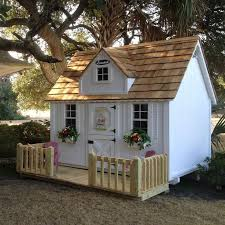Backyard Clubhouse Plans by 25 Best Wooden Playhouse Kits Ideas On Pinterest Hobbit