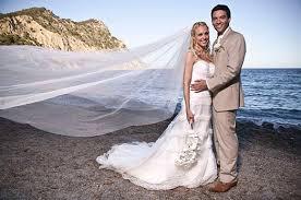 hello wedding dress camilla dallerup wedding to kevin sacre