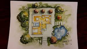 ground floor plan rendering by watercolour youtube