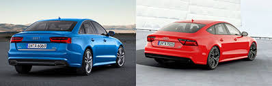 audi a6 or a7 2018 audi a6 vs a7 difference review and release date audi