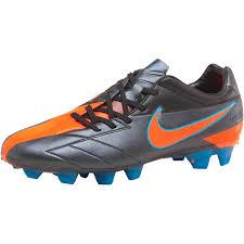 buy football boots buy nike mens t90 laser iv kl fg football boots black total orange