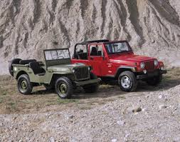 jeep wrangler back celebrate jeep u0027s 75th anniversary with some of their most iconic